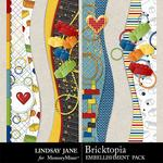Bricktopia Borders Pack-$1.99 (Lindsay Jane)