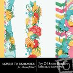 Joy of Snow Borders Pack-$1.99 (Albums to Remember)
