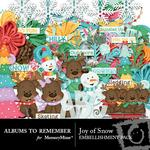 Joy of Snow Embellishment Pack-$3.49 (Albums to Remember)