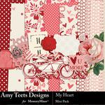 My Heart Mini Pack-$3.99 (Amy Teets)