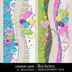 Brickettes Borders Pack-$1.99 (Lindsay Jane)