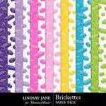 Brickettes Extra Paper Pack-$1.99 (Lindsay Jane)