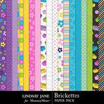 Brickettes Paper Pack-$2.49 (Lindsay Jane)
