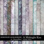 A Midnight Kiss Grunge Paper Pack-$3.49 (Laura Burger)
