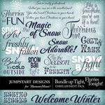 Bundle Up Tight WordArt Pack-$2.49 (Jumpstart Designs)