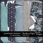 Bundle Up Tight Torn Paper Pack-$3.49 (Jumpstart Designs)