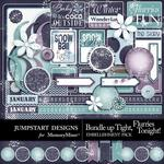 Bundle Up Tight Journal Bits-$2.49 (Jumpstart Designs)