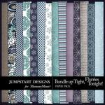 Bundle Up Tight Patterned Paper Pack-$3.49 (Jumpstart Designs)