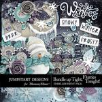 Bundle Up Tight Embellishment Pack-$3.49 (Jumpstart Designs)
