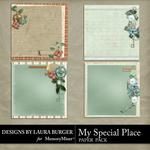My Special Place Stacked Paper Pack-$3.49 (Laura Burger)