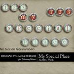 My Special Place Alphabet Pack-$2.49 (Laura Burger)