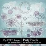 Party People Background Fancies Pack-$2.99 (Fayette Designs)