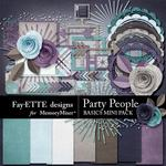 Party People Basics Mini Pack-$3.99 (Fayette Designs)