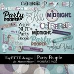 Party People WordArt Pack-$1.99 (Fayette Designs)