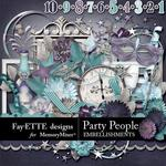 Party People Embellishment Pack-$3.49 (Fayette Designs)