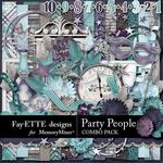 Party People Combo Pack-$7.99 (Fayette Designs)