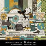 Bookworm Combo Pack-$4.99 (Word Art World)
