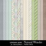 Natural Wonder Paper Pack-$2.49 (Lindsay Jane)