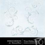 Winter Holidays Swirls Pack-$1.00 (Indigo Designs)