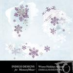 Winter Holidays Accents Pack-$1.99 (Indigo Designs)