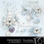 Winter Holidays Clusters Pack-$1.99 (Indigo Designs)