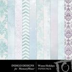Winter Holidays Paper Pack-$1.49 (Indigo Designs)