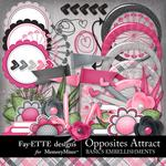 Opposites Attract Basics Embellishment Pack-$3.49 (Fayette Designs)