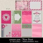 New Start Journal Cards-$1.99 (Lindsay Jane)
