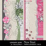 New Start Borders Pack-$1.99 (Lindsay Jane)
