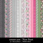 New Start Paper Pack-$2.49 (Lindsay Jane)