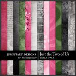 Just the Two of Us Blended Paper Pack-$3.99 (Jumpstart Designs)