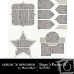 Shape It Frames 02 QuickMix-$3.49 (Albums to Remember)
