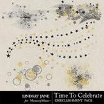 Time to Celebrate LJ Scatterz-$1.99 (Lindsay Jane)