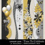 Time to Celebrate LJ Borders Pack-$1.99 (Lindsay Jane)