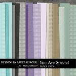 You are Special LB Embossed Paper Pack-$3.49 (Laura Burger)