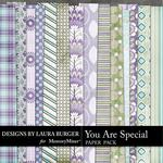You are Special LB Shabby Paper Pack-$3.49 (Laura Burger)
