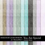 You are Special LB Solid Paper Pack-$3.49 (Laura Burger)