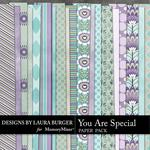 You are Special LB Pattern Paper Pack-$3.49 (Laura Burger)
