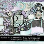 You are Special LB Embellishment Pack-$2.49 (Laura Burger)