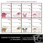 Love Notes ATR Printable Toppers-$2.49 (Albums to Remember)