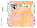 Tattered love pillow box p001 sm small