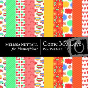 Come my love paper set 2 preview mm medium