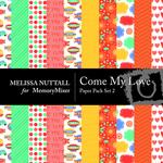 Come My Love Paper Pack 2-$3.49 (Melissa Nuttall)