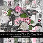 The Tie That Binds Combo Pack-$4.99 (Laura Burger)