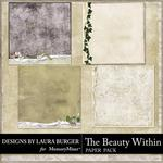 The Beauty Within Stacked Paper Pack 1-$3.49 (Laura Burger)