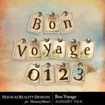 Bon Voyage Alphabet Pack-$2.00 (MagicalReality Designs)