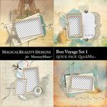 Bon Voyage QuickPage 1-$3.49 (MagicalReality Designs)