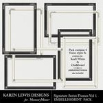 Signature Series Frame Pack Vol 1-$1.99 (Karen Lewis)