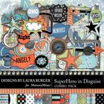 SuperHero in Disguise Combo Pack-$4.99 (Laura Burger)