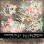 I Dont Do Mornings Accents Pack-$1.75 (Jumpstart Designs)